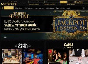 Casino Metropol Hakkında Bilgi, Casino Metropol Lisanslı mı?, Casino Metropol Nasıl?, Casino Metropol Sitesi Analizi, Casino Metropol Tanıtım